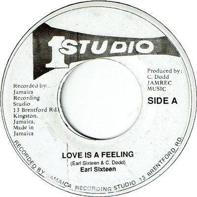 LOVE IS A FEELING (VG-)