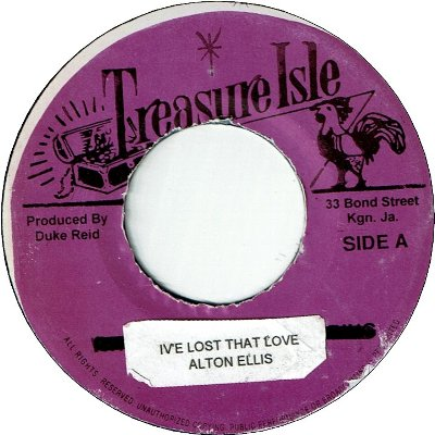 I'VE LOST THAT LOVE(=You've Made Me So Very Happy)(VG+) / DIANA (VG+)