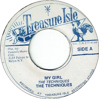 MY GIRL (VG+) / MY HEART'S DESIRE (VG)