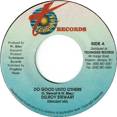 DO GOOD UNTO OTHERS (VG+)