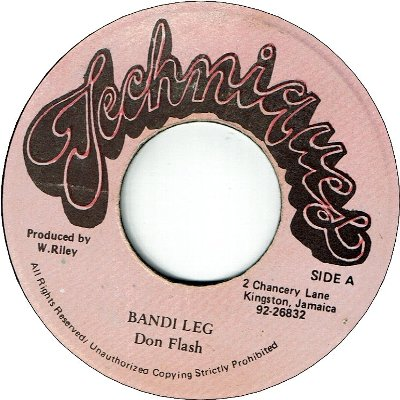 BANDI LEG (VG+) / BAD BOY Version