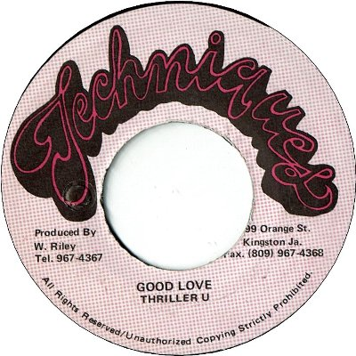 GOOD LOVE (VG) / VERSION (VG)