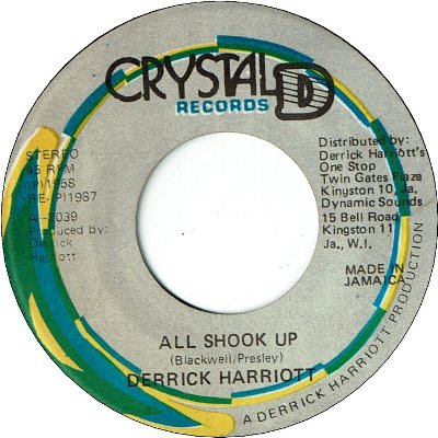 ALL SHOOK UP (EX)