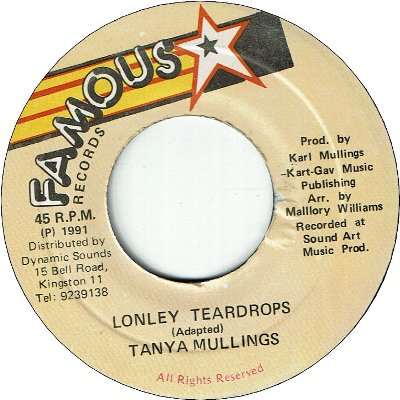 LONELY TEARDROPS (EX) / LOVE WILL NEVER DO WITHOUT YOU (EX)