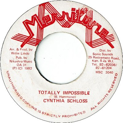 TOTALLY IMPOSSIBLE (VG+)