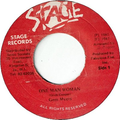 ONE MAN WOMAN (VG+)