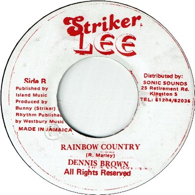 RAINBOW COUNTRY (VG+) / WANT MORE (VG+)