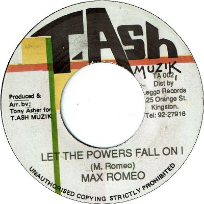 LET THE POWER FALL ON I (VG+)