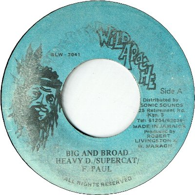 BIG AND BROAD(Remix)(VG+)
