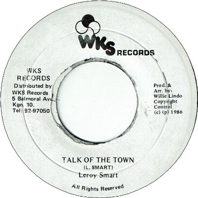 TALK OF THE TOWN (VG+)