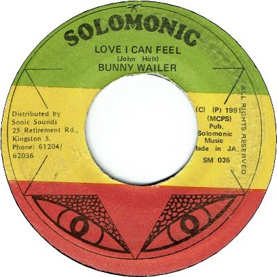 LOVE I CAN FEEL (VG-)