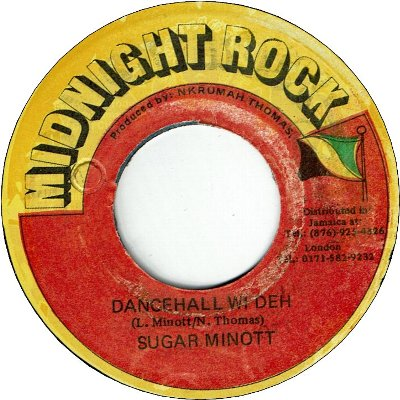 DANCEHALL WI DEH (VG+) / Answer Version