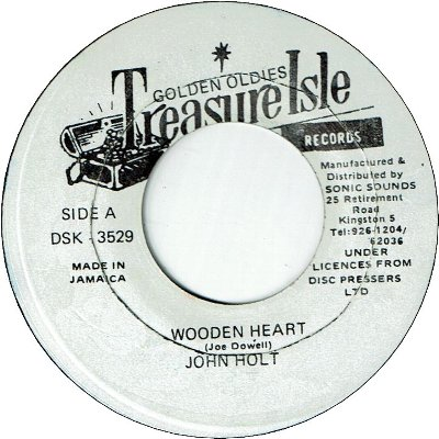 WOODEN HEART (VG+ to VG) / I WANT YOUR CLOSER (VG+)
