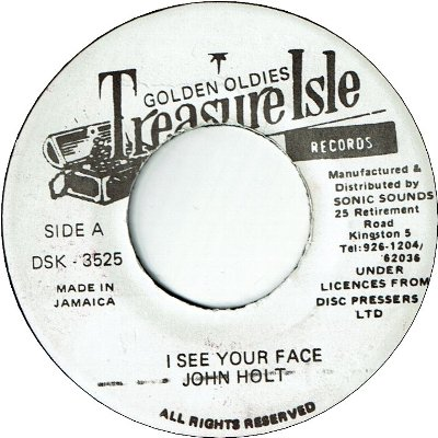 I SEE YOUR FACE (VG+) / VERSION (VG+)