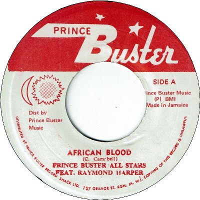 AFRICAN BLOOD (VG+) / SOUNDS AND PRESSURE