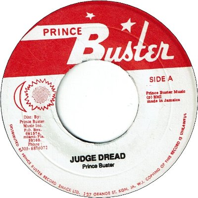 JUDGE DREAD (VG+) / THE APPEAL (VG+)