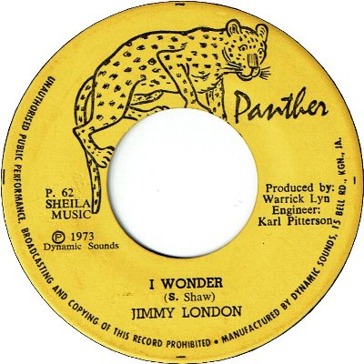 I WONDER (VG+) / VERSION (VG+)