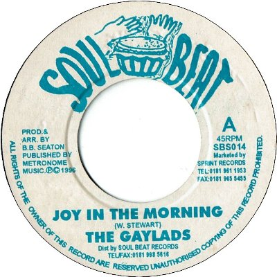 JOY IN THE MORNING (VG) / SHE WANT IT