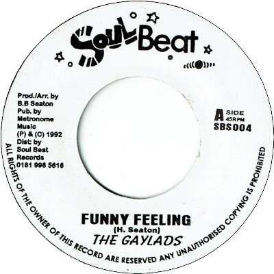 FUNNY FEELING (VG+) / YOU'VE GOT TO BE NATURAL (VG+)
