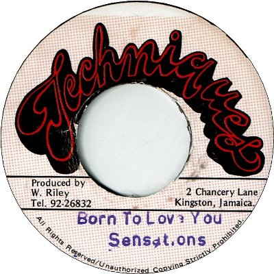 BORN TO LOVE YOU (VG+) / VERSION (VG+)
