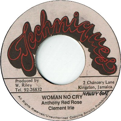 WOMAN NO CRY (VG+)