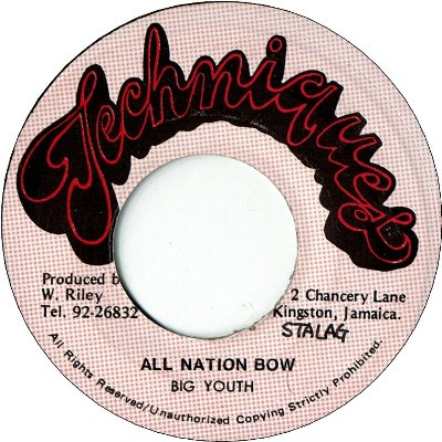 ALL NATION BOW (VG) / JAH MADE THEM ALL (VG)