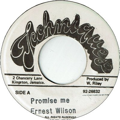 PROMISE ME (VG)