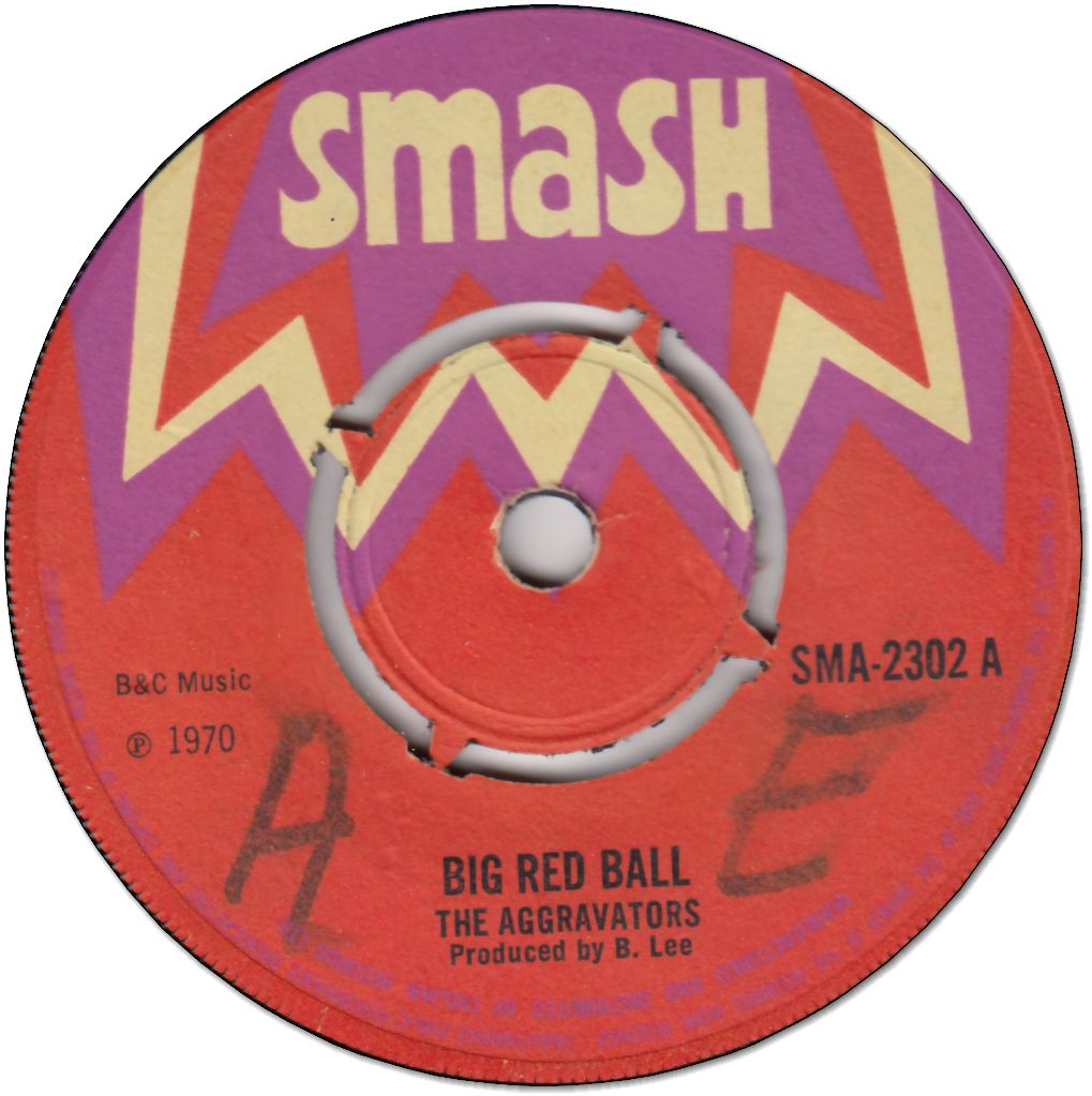 BIG RED BALL (VG/WOL) / VERSION (VG)