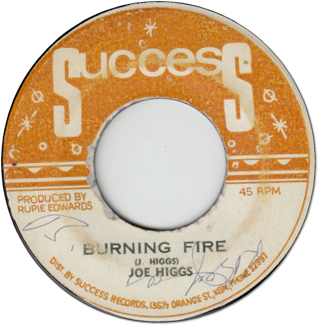 BURNING FIRE (VG to VG+/WOL) / FIRE BURN