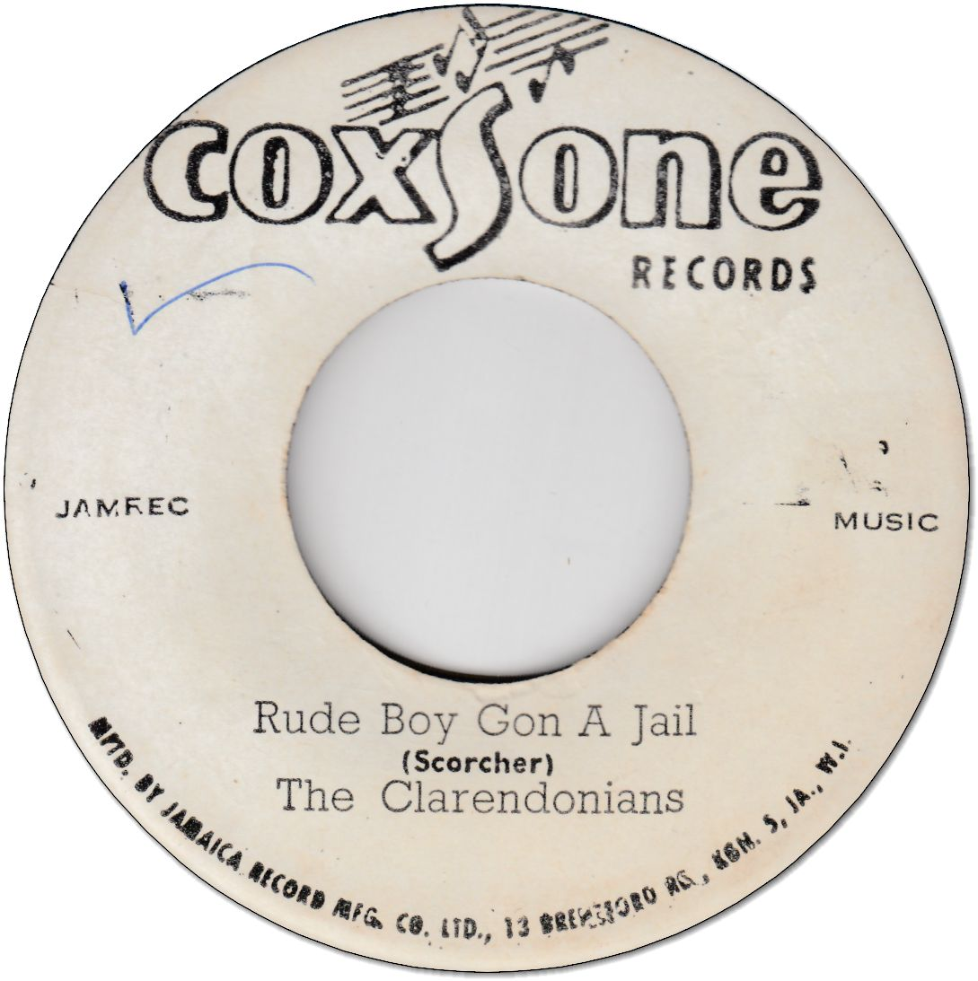 RUDE BOY GONE A JAIL (VG-) / DON'T FOOL ME (VG+)