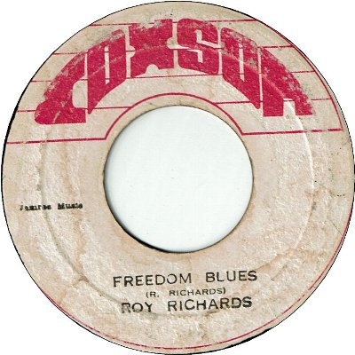 FREEDOM BLUES (VG-/WD) / VERSION (VG)