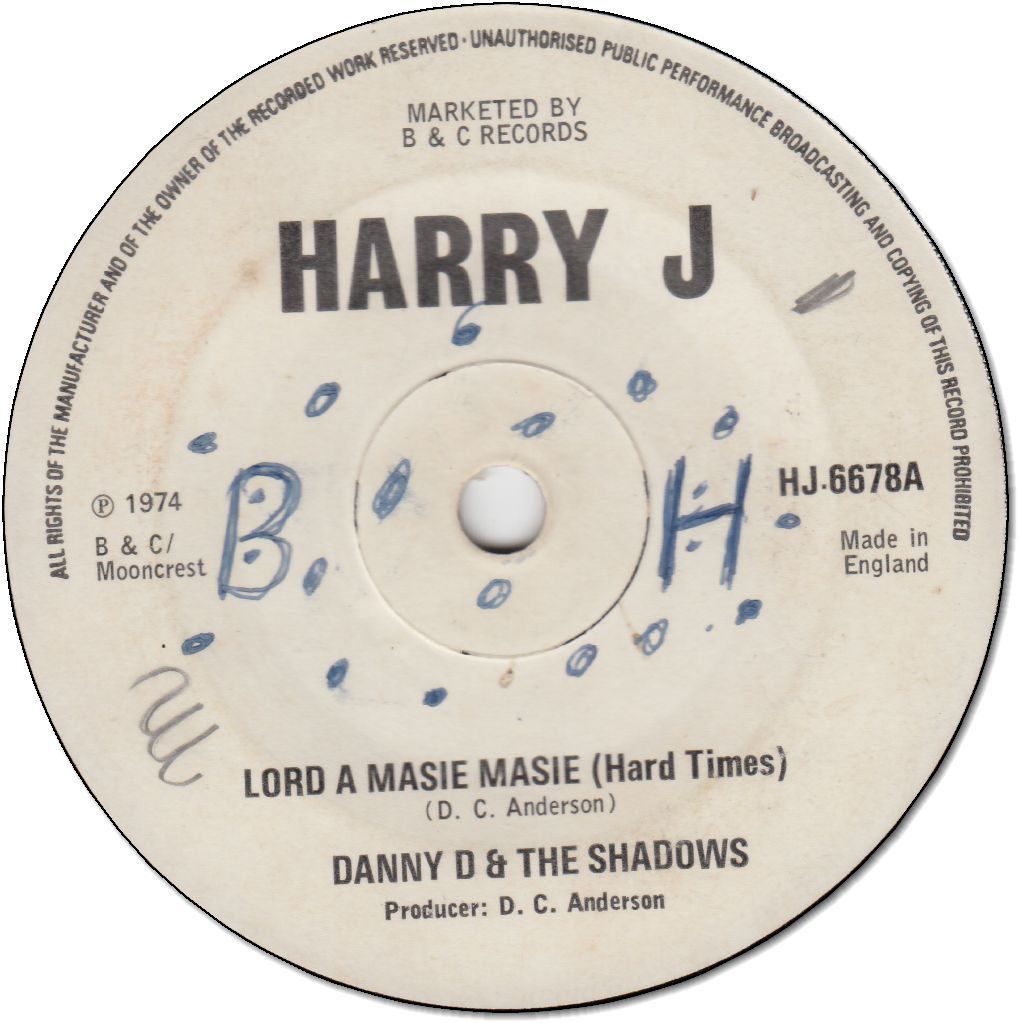 LORD A MASIE MASIE(Hard Times)(VG/WOL)