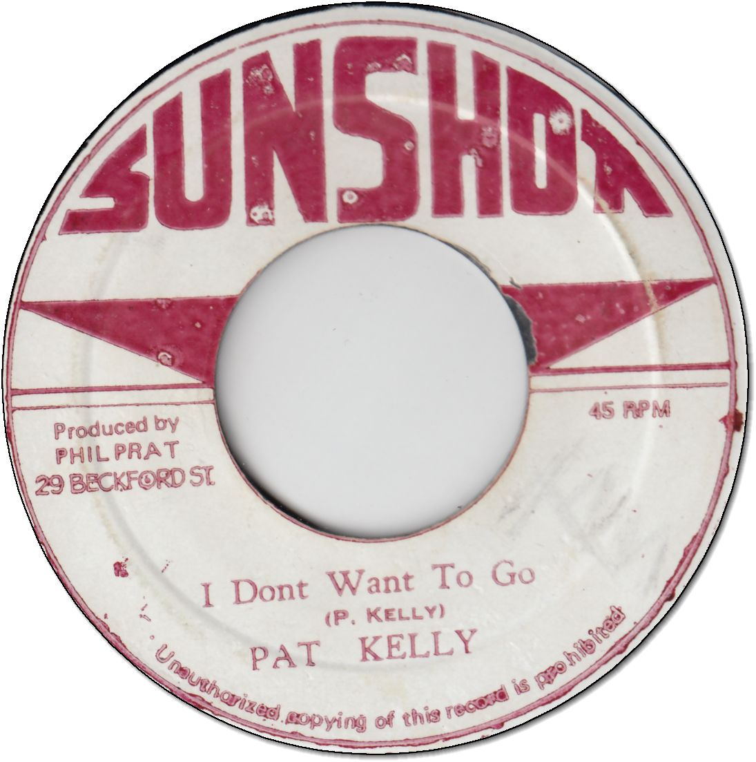I DON'T WANT TO GO (VG+) / VERSION (VG)