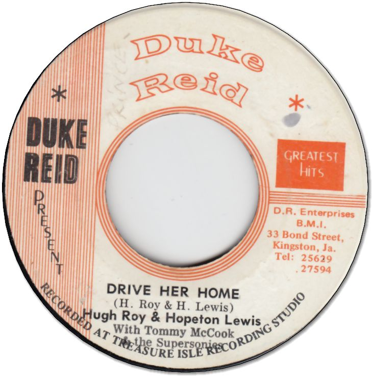 DRIVE HER HOME (VG) / STAMPEDE (/WOL)