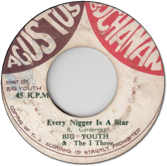 EVERY NIGGER IS A STAR (VG+) / POOR NIGGER (VG)