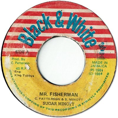 MR.FISHERMAN (VG+) / DEEP SEA ROCK