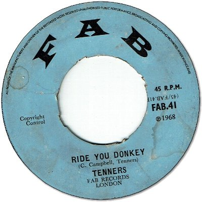 SHEPPERD BENG BENG (VG) / RIDE YOU DONKEY (VG+)