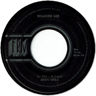 STAGGER LEE (VG To VG+)