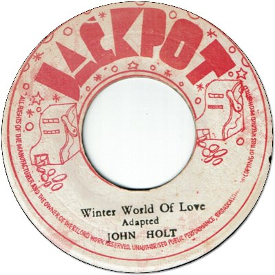 WINTER WORLD OF LOVE (VG to VG+) / VERSION (VG- to VG)