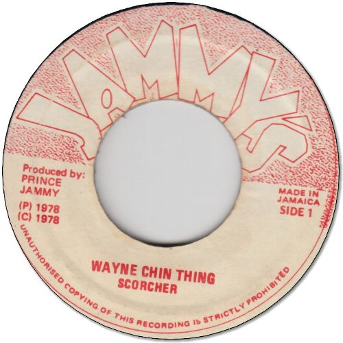 WAYNE CHIN THING (VG) / VERSION (VG-)