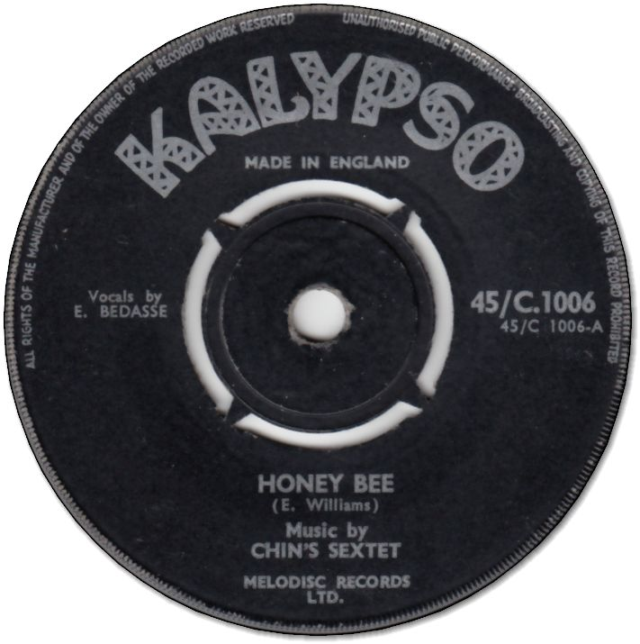 HONEY BEE (VG) / COME BACK TO ME (VG to VG-)