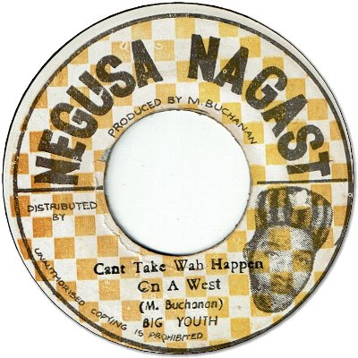 CAN'T TAKE WAH HAPPEN (VG) / FLOOD VICTIMS (VG)