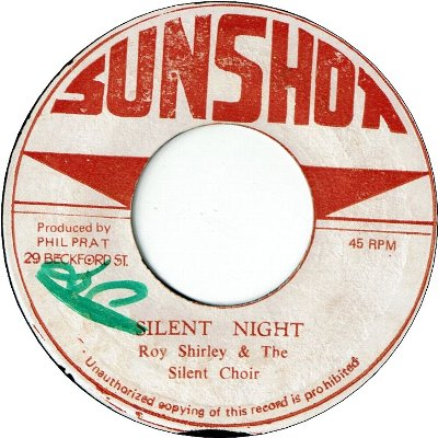 SILENT NIGHT (VG+/WOL) / O COME ALL HE FAITHFUL