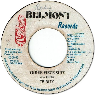 THREE PIECE SUIT (VG+) / BIG FAT THING (VG+)