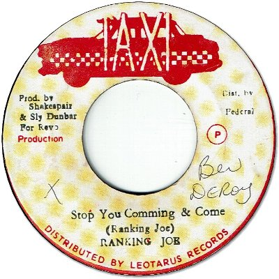 STOP YOU COMING & COME (VG) / VERSION (VG)