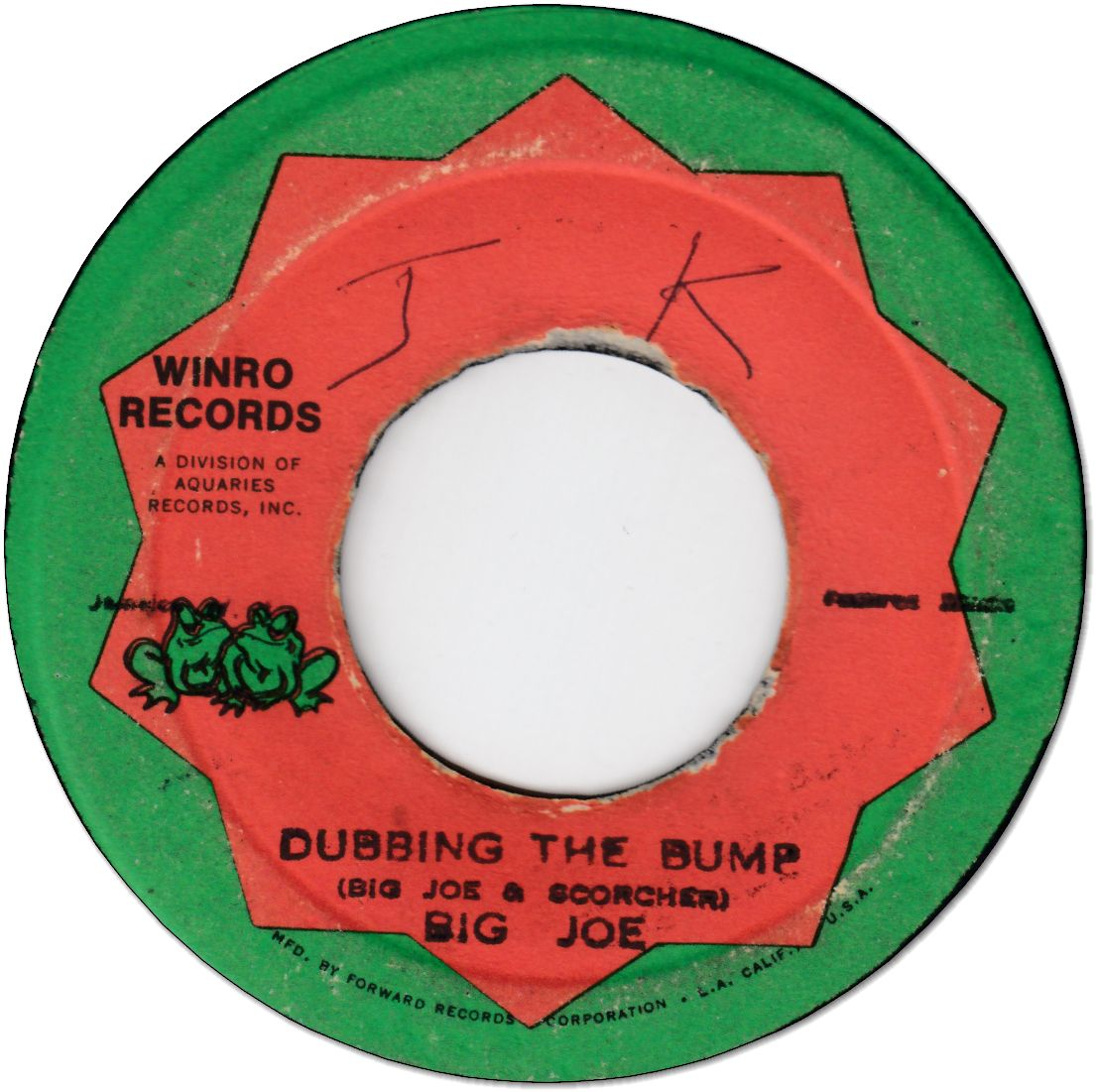 DUBBING THE BUMP (VG-/WOL) / BUMPY STOMP (G+)