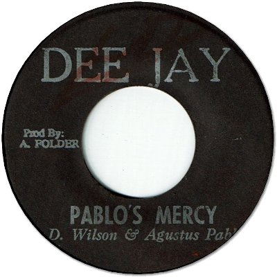 PABLO'S MERCY (VG+) / VERSION (VG+)