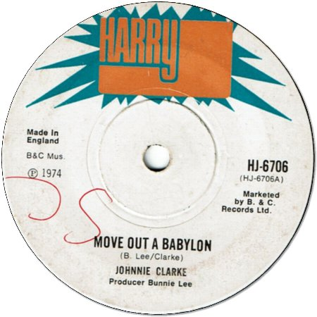 MOVE OUT A BABYLON (VG/WOL) / DUB (VG/WOL)