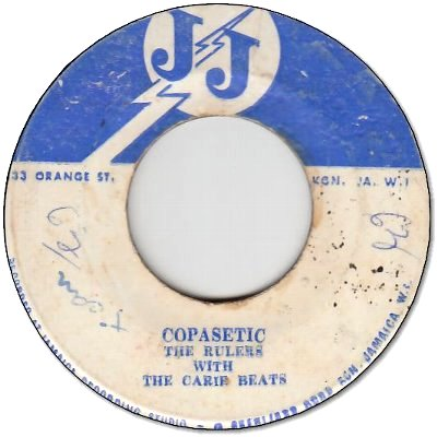 COPASETIC (VG- to VG) / TOO LATE