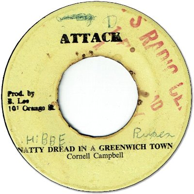 NATTY DREAD IN A GREEWICH FARM (VG/WOL) / THIS YA VERSION YA RED (VG/WOL)